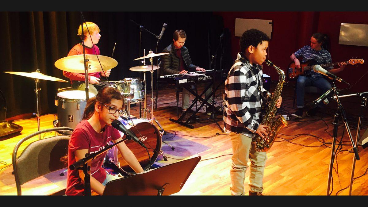 Bild på Musikania – elevkonsert