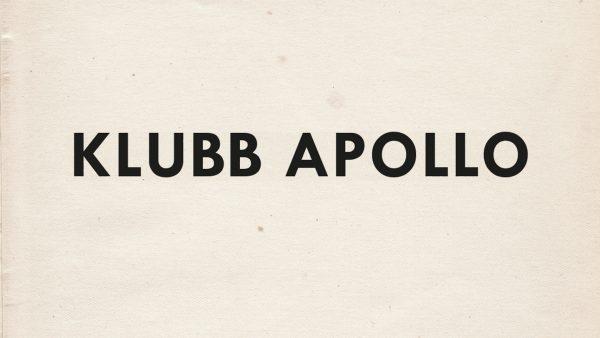 Bild på Klubb Apollo: