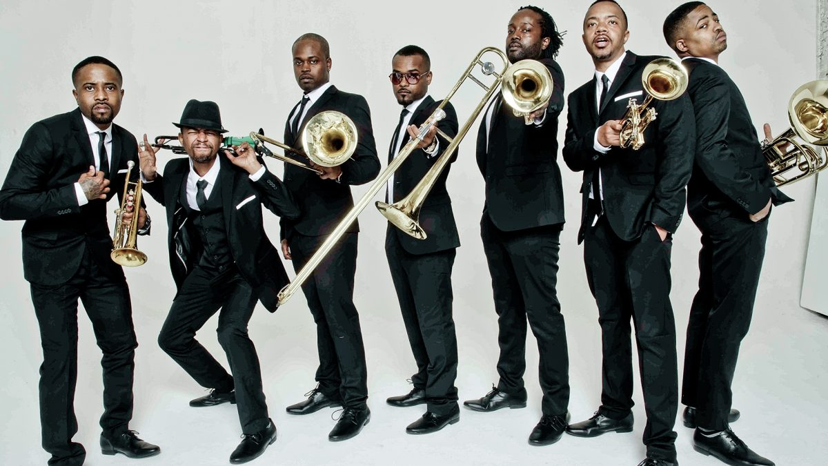 Bild på Hypnotic Brass Ensemble