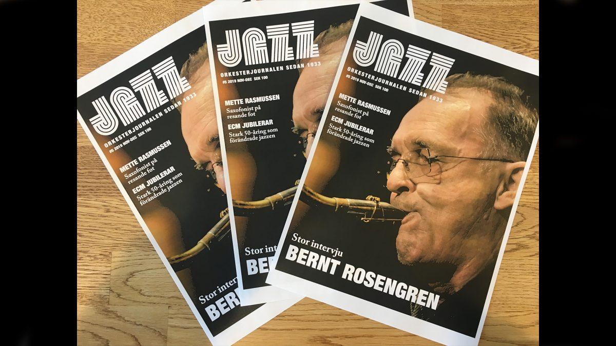 Bild på Smygläsning Jazz/Orkesterjournalen nr 5