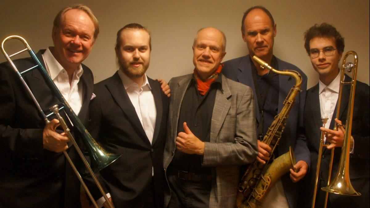 """Bild på Ulf Johansson Werre John Högman Quintet """"Fathers and Sons"""""""